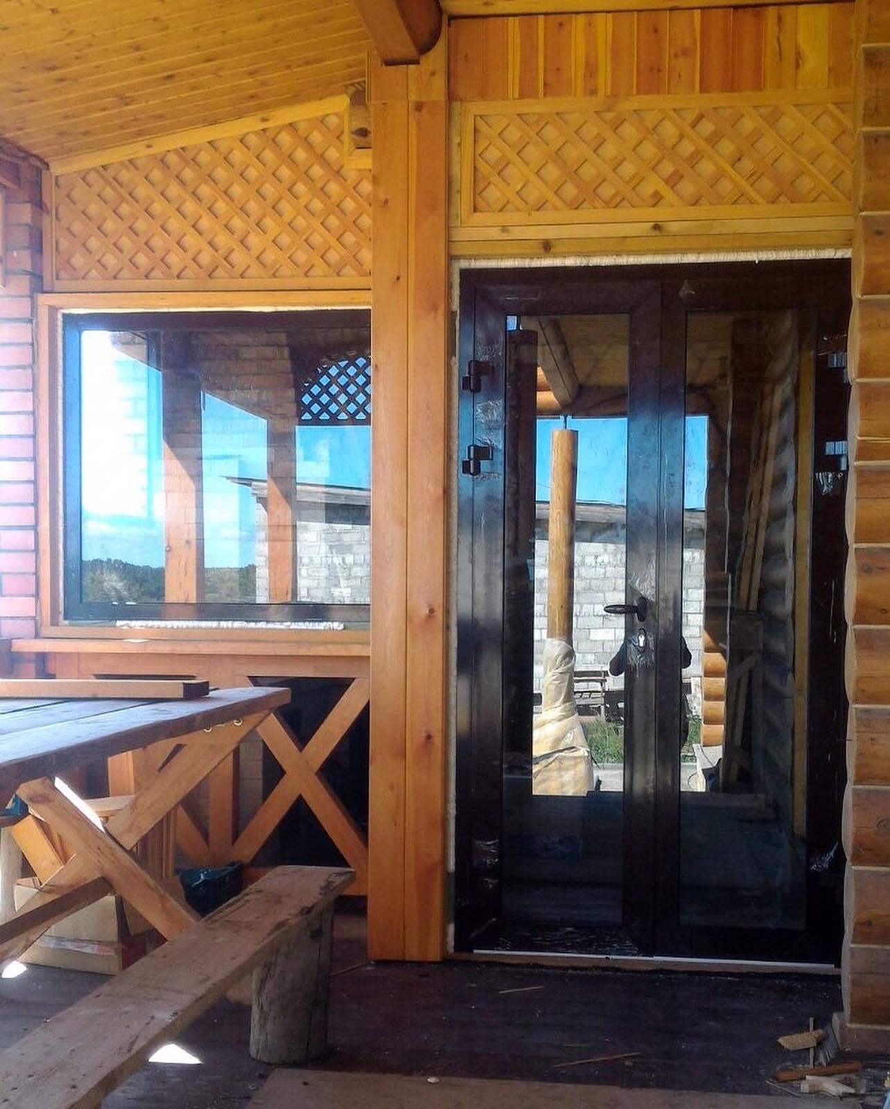 В заповедной зоне Волжского района недалеко от Рождествено произвели монтаж холодной беседки